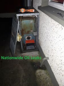 Oil Leak Damage Galway