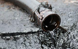 Home Oil Spill